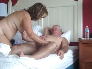Old Couple Try Some 69