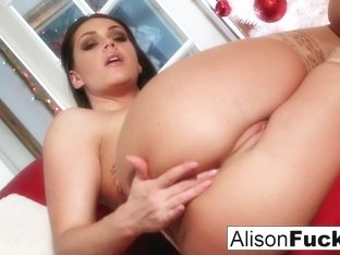 Alison Tyler in Busty Alison Tyler Celebrates Christmas With Her Pussy - AlisonTyler
