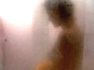 Horny body shot in shower