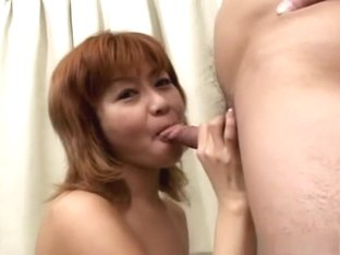 Sexy Ami sucking cock nicely!