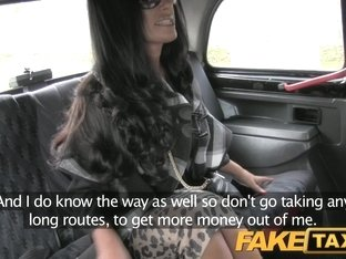 FakeTaxi: Super sexy posh totty takes a backseat fucking