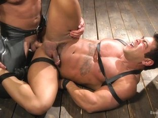 Dominic Pacifico,Draven Navarro in Bodybuilder Draven Navarro Takes Pain, Extreme CBT, and Gets Fu.