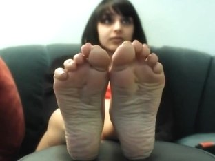 Business Woman show her sexy feet