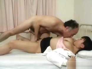 Nurse with hairy pussy gets eaten out