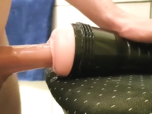 20 Year old boy fuck his Fleshlight :)