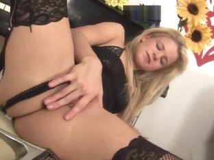 Bianca Lovely Uses A Sex Toy