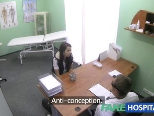 Skinny slim juvenile student cums in for check up acquires the doctors creampie