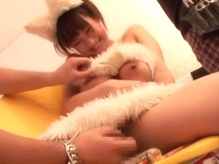 Hottest Japanese whore in Amazing Swallow, Lingerie JAV movie