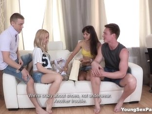 Young Sex Parties - Olivia Grace - Shrima Malati - Amazing sex party doubles
