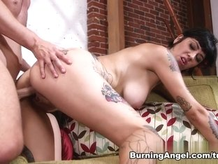 Horny pornstars Aayla Secura, Seth Gamble in Incredible Latina, Emo sex movie