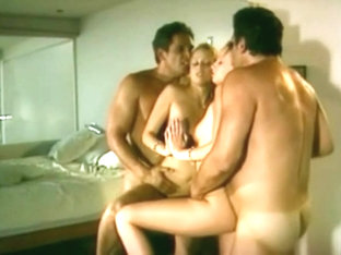 Vintage Porn - Bunny Luv in a 3Some with her Horny Step-Dad