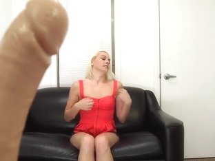 Ashley Stone faces an AI possessing dildo