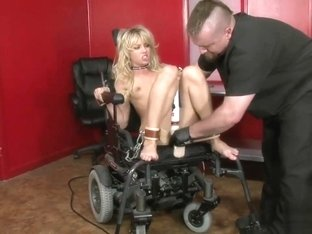 Jeanie Marie Tied Down Fuck Machine Orgasm