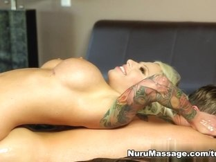 Incredible pornstars Vyxen Steel, Axel Aces in Exotic Massage, Cunnilingus adult movie