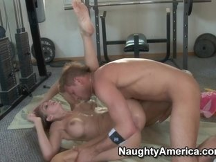 Roxanne Hall & Bill Bailey in Naughty Athletics