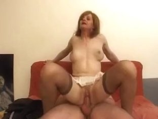 Horny Homemade Shemale movie with Lingerie, Stockings scenes