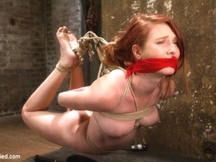 Sgt. Major & Ashley Lane in Redhead Newcomer Taken By Sergeant Major - HogTied