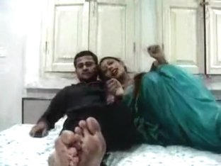 Busty Indian wife enjoys sex with her man on their honeymoon