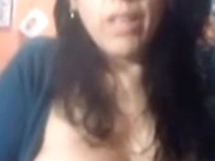 mother i'd like to fuck plays with vagina and melons on web camera untill this babe cums