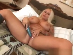 Big tits Angel Vain playing with her big part2