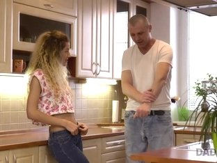 DADDY4K. Nice old and young video in which tall dad fucks cute babe
