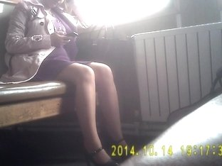 Following Shiny Tan Pantyhose Women