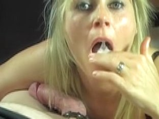 Just blow short and squirt in her throat