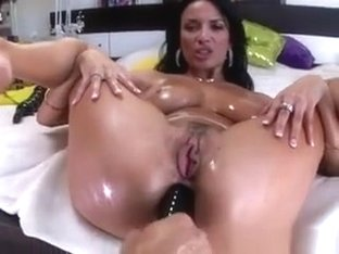 Busty Slut Anissa Kate Gets Her Holes Tinkered