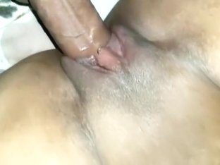 My girlfriends wet pussy