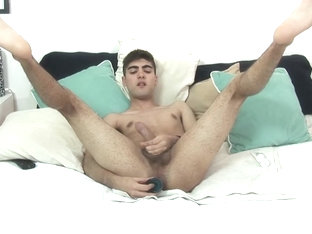 Latin Boy Nicanor Jerks Off