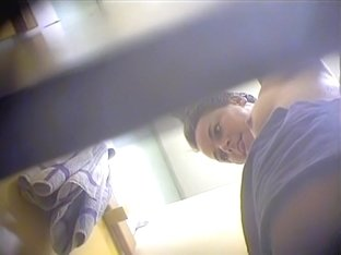 Changing room voyeur tube video with hot baretit girlie