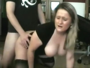 So sexy blonde wife preffer cock than attend her family,!holy fuck!
