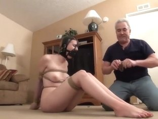 slut babe ashley lane tied soooooo tight
