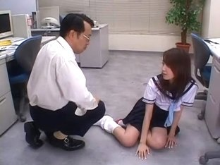 Horny Japanese slut Saki Sakura in Amazing Big Tits, College/Gakuseifuku JAV movie