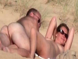 Hidden vid of French woman fingered on beach part 2
