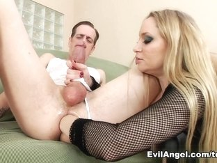 Fabulous pornstars Chad Diamond, Aiden Starr in Best Femdom xxx movie