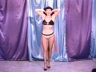 Teaserama! Irving Klaw's burlesque show featuring Bettie Page!