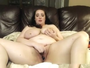 fat bbw with big tits playing toys