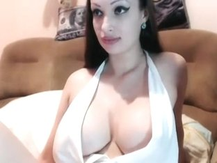 Indonesia girl with big boobs on WebCam