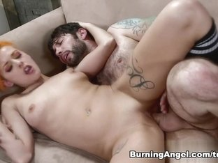 Tommy Pistol & Chelsea Grinds in First Time Girl Scene