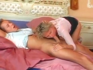 Horny mommy with junior boy
