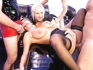 Clara & Sexy Susi in German Cougars Amateur Bukkake - MMVFilms