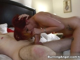 Hottest pornstar Wolf Hudson in Exotic Emo, Redhead adult clip