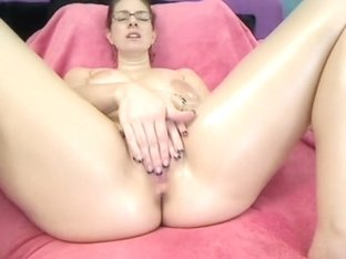 Slick with oil and sexy dancing