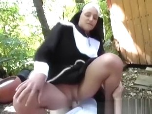 horny nun picked up from street