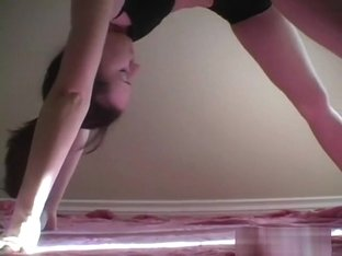 Cute ex girlfriend Anna shows how flexible she is for great fucking