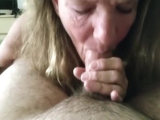 Cock hungry granny eating cu...