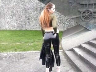 Vinyl PVC Leggings