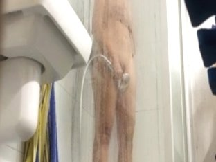 Caught masturbating in shower