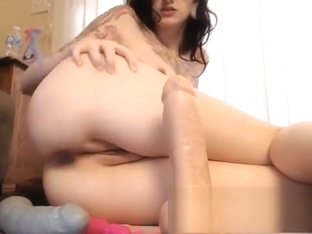 Extreme amateur anal toys